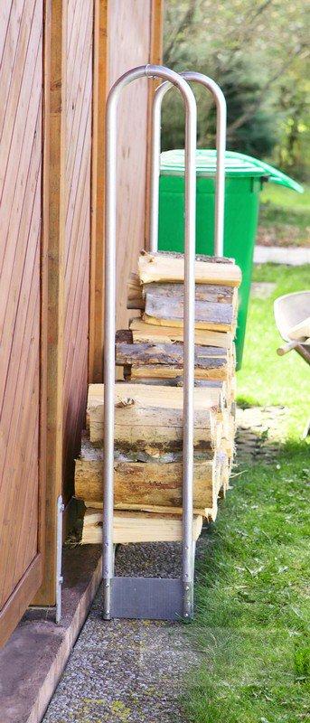 brennholz stapelhilfe bsh 310. Black Bedroom Furniture Sets. Home Design Ideas