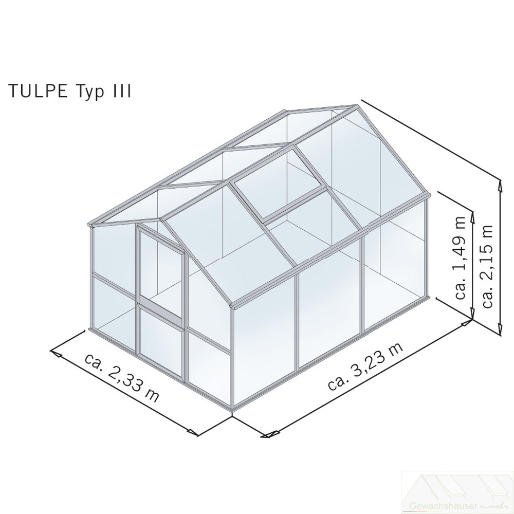 tulpe iii aluminium pressblank l nge 3 23 m. Black Bedroom Furniture Sets. Home Design Ideas