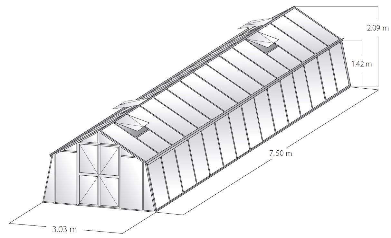 Technische Daten Landhaus 7,5